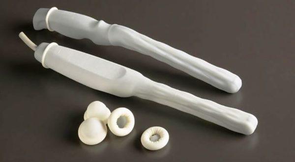 Для введения датчика используются одноразовые презервативы