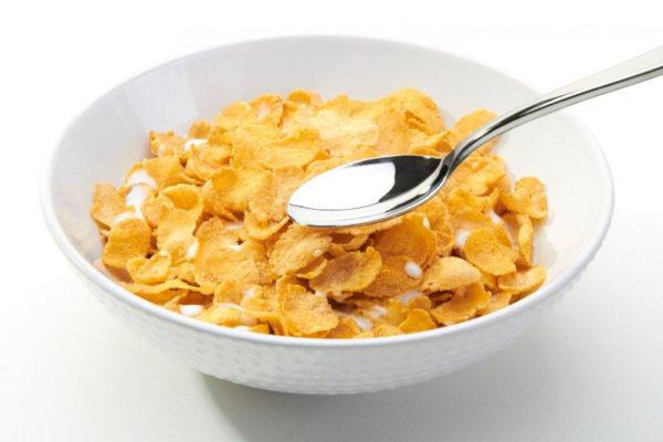 Хлопья и сухие завтраки не подходят для питания при простатите