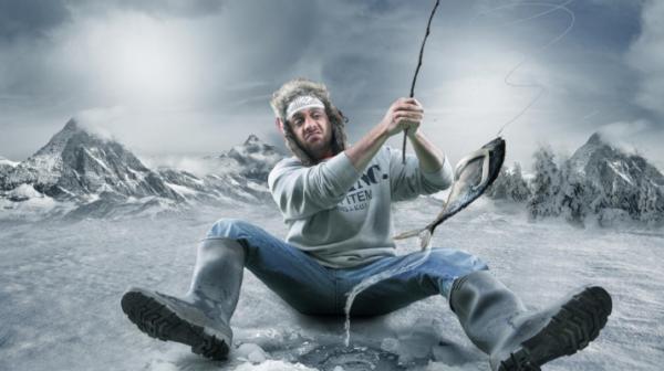 Переохлаждение часто бывает у любителей зимней рыбалки