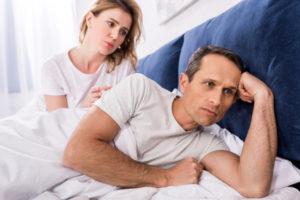 Уровень психологического комфорта мужчины и его партнера