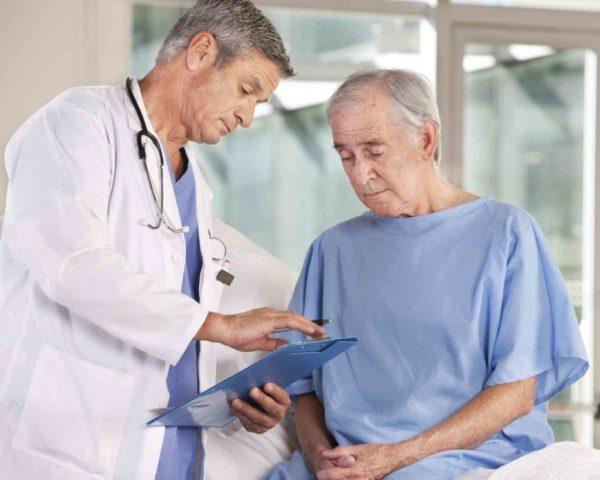 Мужчины старше 60 лет более подвержены развитию такой болезни