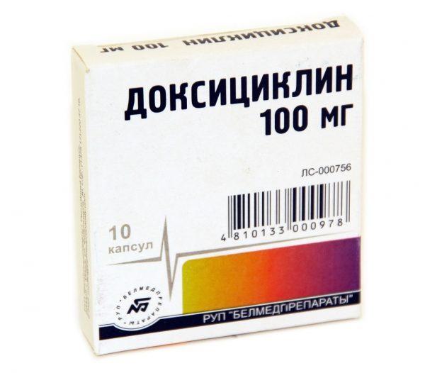 Доксициклин назначается при различных патологиях организма