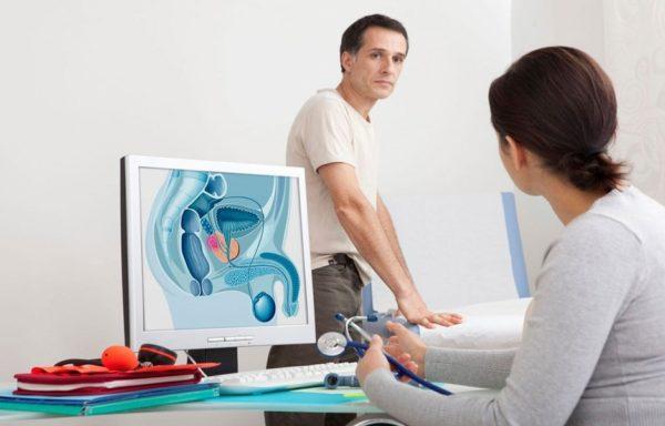 При подозрении на хронический простатит помимо анализа мочи проводят и иные методы диагностики