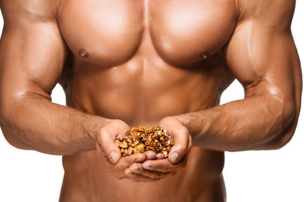 Мужская потенция и орехи