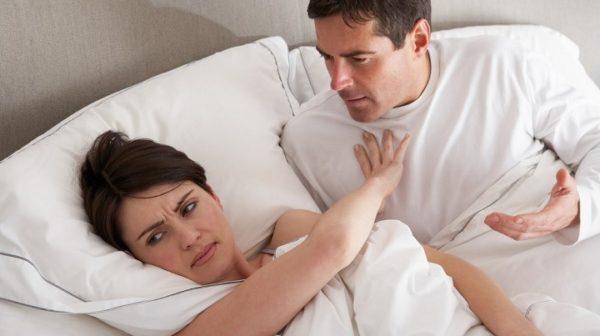Половая холодность сексуальной партнерши
