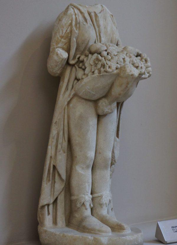 Статуя бога Приапа