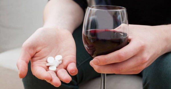 """Алкоголь усиливает побочные эффекты """"Афалы"""""""