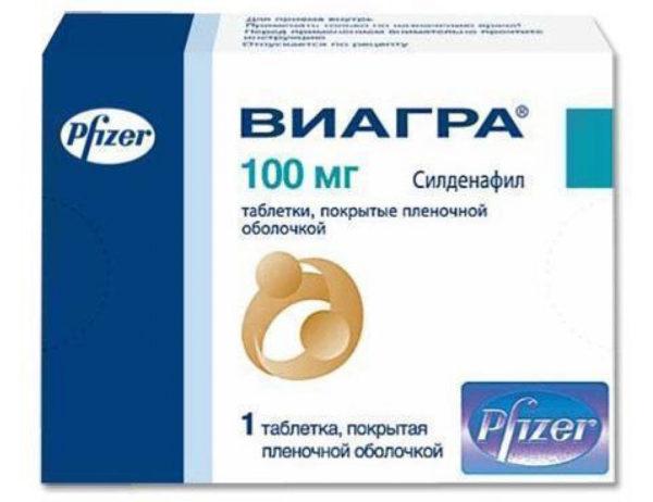 """Таблетки """"Виагра"""" - самый известный препарат для потенции"""