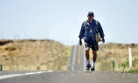 Пешие прогулки полезны в любом возрасте