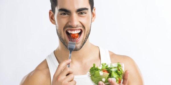 Важно придерживаться здорового питания