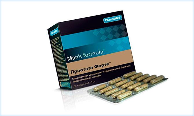 Витамины Простата Форте