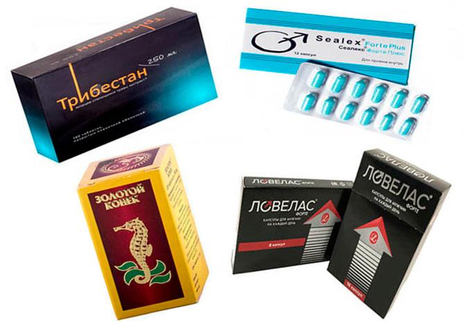 Препараты для эрекции